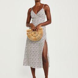 Wrap-Front Maxi Dress   Abercrombie & Fitch US & UK