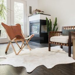 Faux Cowhide Area Rug   Overstock