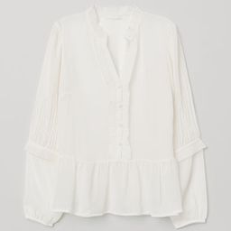 Pleated Blouse | H&M (US)