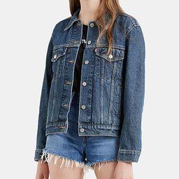 Levi's Ex-Boyfriend Cotton Denim Trucker Jacket & Reviews - Jackets & Vests - Juniors - Macy's   Macys (US)
