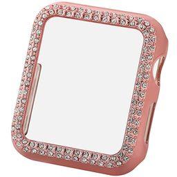 Greaciary Bling Case Compatible for Apple Watch 42mm,Sparkle Crystal Diamonds Shiny Rhinestone Bu... | Amazon (US)