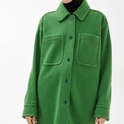 Overshirt-Style Wool Coat | ARKET