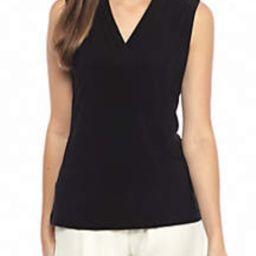 Jersey V Neck Knit Top | Belk
