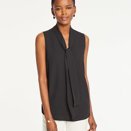 Bow Neck Shell | Ann Taylor (US)