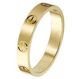 SHIRIA Love Rings Lifetime Promise with Screw Design Best Gifts for Love with Valentine's Day Pro... | Amazon (US)