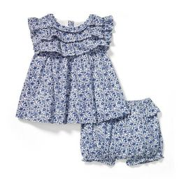 Floral Ruffle Matching Set | Janie and Jack