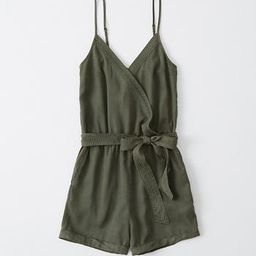 Wrap-Front Romper   Abercrombie & Fitch US & UK