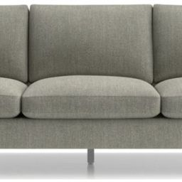 """Tyson 102"""" Grande Sofa with Stainless Steel Base + Reviews 