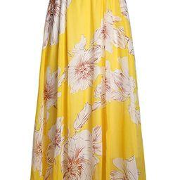 Pretchic Women's Blossom Floral Chiffon Maxi Long Skirt | Amazon (US)