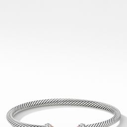 4mm Cable Classic Bracelet with Semiprecious Stones & Diamonds   Nordstrom