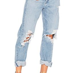 AGOLDE 90s High Rise Loose Fit in Fall Out from Revolve.com   Revolve Clothing (Global)