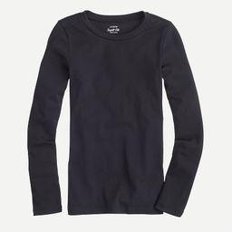 Slim perfect long-sleeve T-shirt   J.Crew US