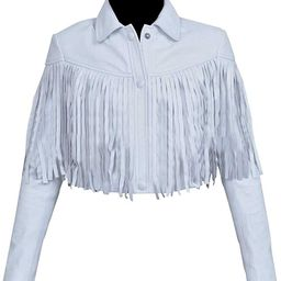 Sloane Peterson Ferris Bueller's Day Off Fringe Leather Jacket   Amazon (US)