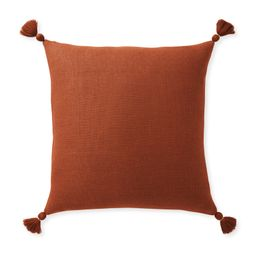 Eva Tassel Pillow Cover | Serena and Lily