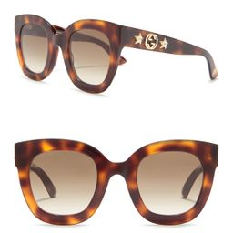 GUCCI   49mm Cat Eye Sunglasses   HauteLook   Hautelook