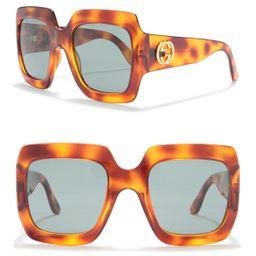 GUCCI   54mm Oversized Square Sunglasses   HauteLook   Hautelook