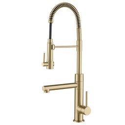 Artec Pro 2-Function Pull Down Single Handle Kitchen Faucet   Wayfair North America