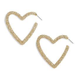 Ciena Heart Hoop Earrings | BaubleBar (US)
