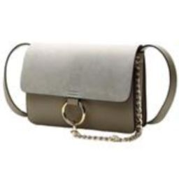 'Anja' Faux Suede Leather Cross Body Bag | Goodnight Macaroon