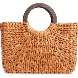 Straw Top Handle Tote   Nordstrom