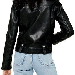 Mona Leather Biker Jacket   Nordstrom