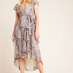 Serpentine Ruffled Midi Wrap Dress   Anthropologie (US)