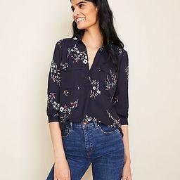 Floral Camp Shirt   Ann Taylor (US)