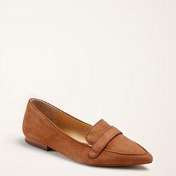 Luann Suede Loafer Flats | Ann Taylor (US)