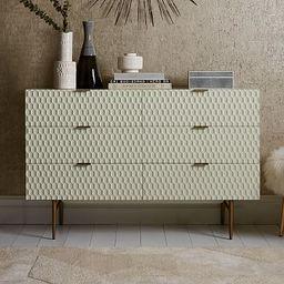 Audrey 6-Drawer Dresser - Parchment   West Elm (US)