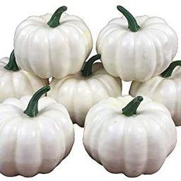 COTOSEY Lifelike Simulation Artificial Pumpkins 10 Pcs for Festive Wedding Halloween Party Home D... | Amazon (US)