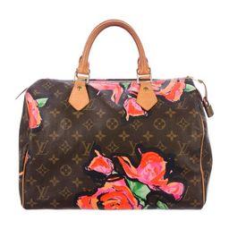 Louis Vuitton Monogram Roses Speedy 30 - Handbags -           LOU256640 | The RealReal | The RealReal