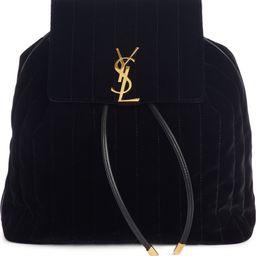 Vicky Quilted Velvet Backpack | Nordstrom