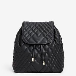 quilted backpack | Express
