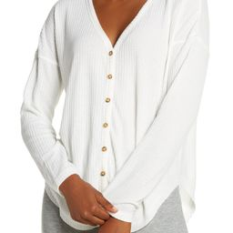Thermal Button-Up Top | Nordstrom