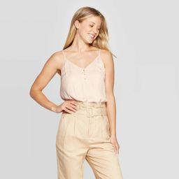 Women's Regular Fit Sleeveless V-Neck Cami - A New Day™ | Target