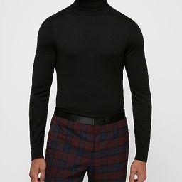 merino wool-blend thermal regulating turtleneck sweater | Express