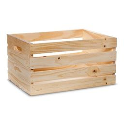 Hand Made Modern - Wooden Crate - Pine | Target