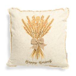 20x20 Wheat Stalk Linen Pillow | TJ Maxx