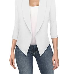 HyBrid & Company Womens Casual Work Office Open Front Blazer Jacket Made in USA   Amazon (US)