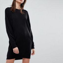 ASOS Knitted Oversized Crew Neck Dress | ASOS US