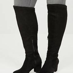 Audrey Over-The-Knee Faux Suede Boot   Lane Bryant (US)