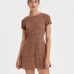 AE Printed Crew Neck Dress   American Eagle Outfitters (US & CA)