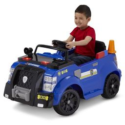 Nickelodeon's PAW Patrol: Chase Police Cruiser, 6-Volt Ride-On Toy by Kid Trax | Walmart (US)
