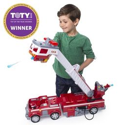 PAW Patrol Ultimate Rescue Fire Truck with Extendable 2 ft. Tall Ladder, for Ages 3 and Up | Walmart (US)