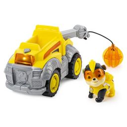 PAW Patrol, Mighty Pups Super PAWs Rubble's Deluxe Vehicle with Lights and Sound | Walmart (US)