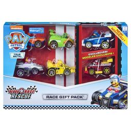 PAW Patrol, True Metal Ready Race Rescue Gift Pack of 6 Race Car Collectible Die-Cast Vehicles, 1... | Walmart (US)