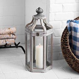 Ryan Gray Wooden Lantern | Kirkland's Home