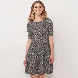Women's LC Lauren Conrad Tiered Babydoll Dress | Kohl's