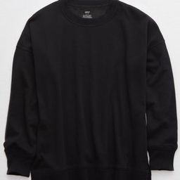 Aerie Oversized Coziest Desert Sweatshirt   American Eagle Outfitters (US & CA)
