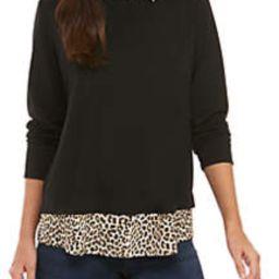 Long Sleeve Shirt with Animal Print | Belk